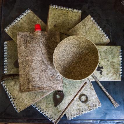 Наталья Кузнецова разработала растительный биоразлагаемый композит с крапивным волокном в качестве наполнителя.