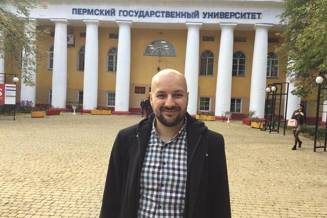 Александар Талески пишет кандидатскую диссертацию на тему «Экспериментальные исследования пространственного и персонального дейксиса македонского и русского языков в виртуальной реальности».