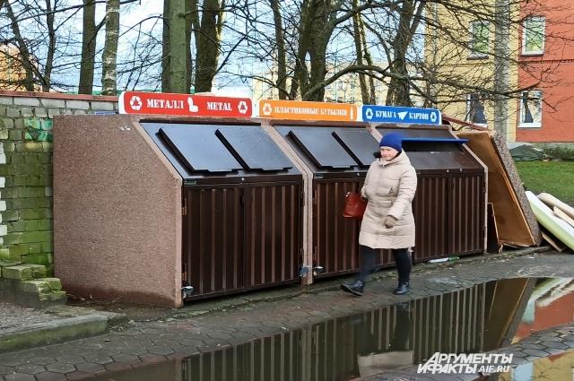 Омичи хотели бы, чтобы в городе установили как можно больше подобных контейнеров.