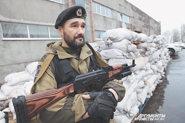 Шахтёр Евгений Дибров встал на защиту Донбасса