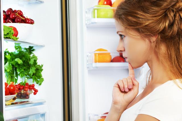голод, холодильник