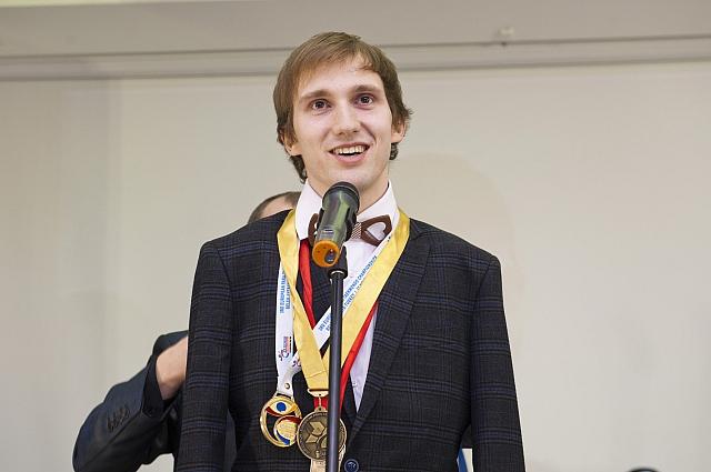 Влад Кричфалуший был очень рад награде.