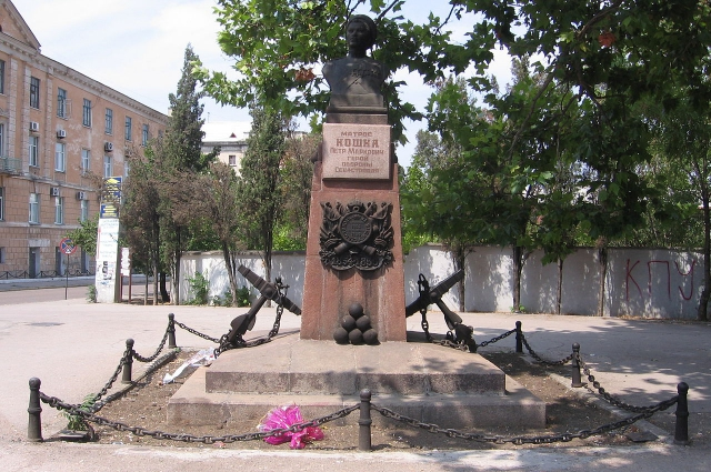 Памятник матросу Кошке в Севастополе