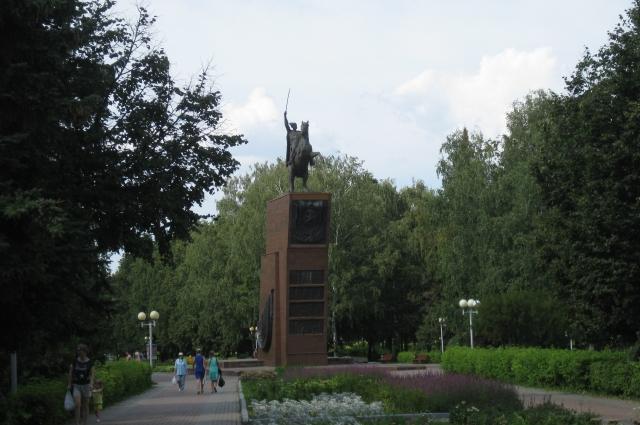 памятник В.И.Чапаеву, Чебоксары