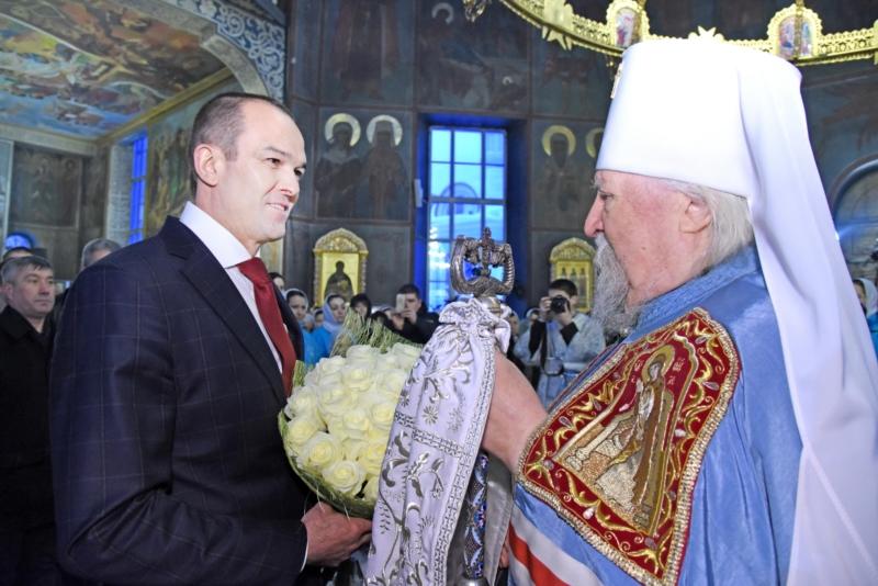 Михаил Игнатьев и митрополит Варнава