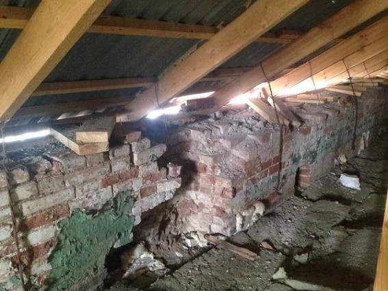 Вот так подрядчик отремонтировал крышу здания