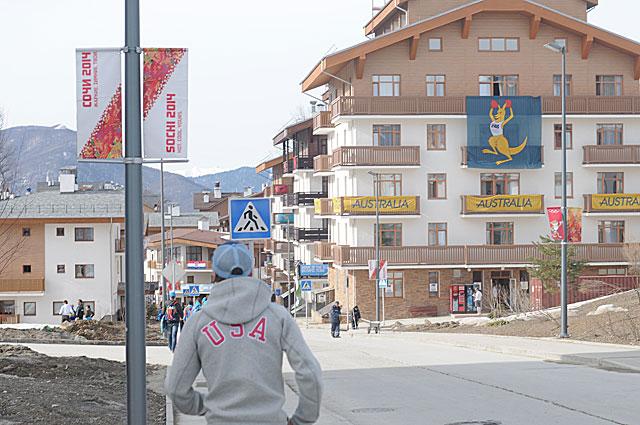 Немногим открываются все секреты Олимпийской деревни