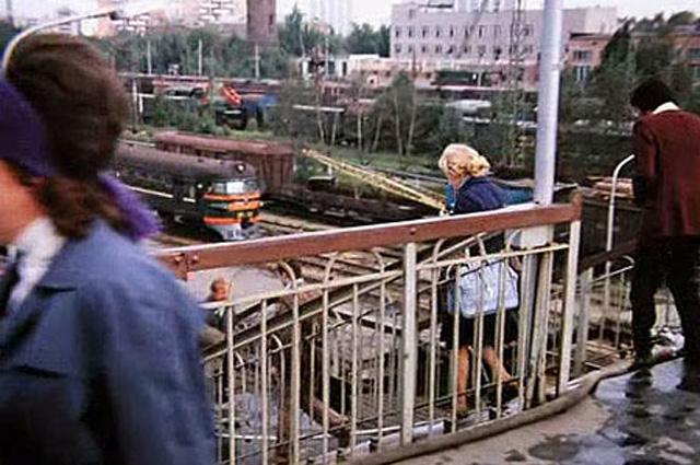 В Москву героиня едет с платформы Лосиноостровская.