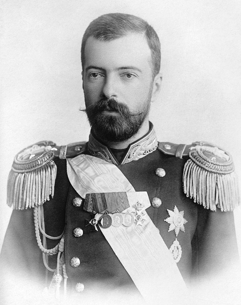 Его Императорское Высочество Великий князь Александр Михайлович, Главноначальствующий Главного управления торгового мореплавания и портов.
