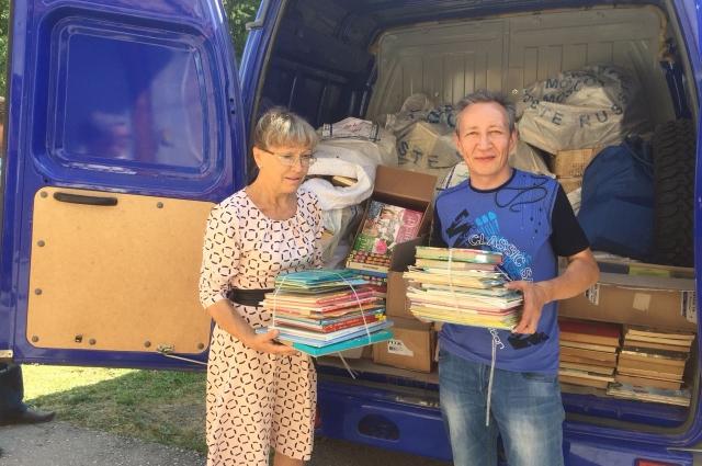 Жителям села Тайчи снова есть что читать.