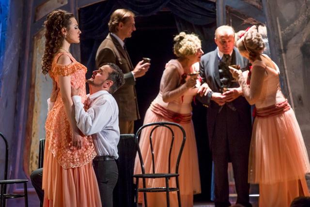 Комедийная оперетта«Баронесса Лили».