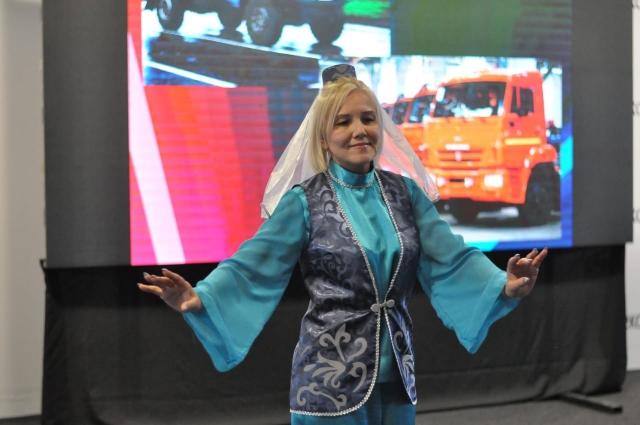 Луиза Бадреева станцевала на конкурсе