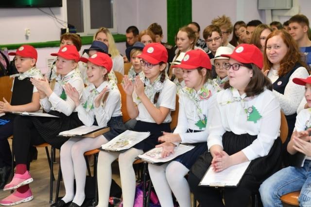 Самыми юными участниками конкурса стали четвероклассники.