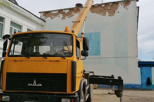 В Ржеве активно идут ремонтные работы.