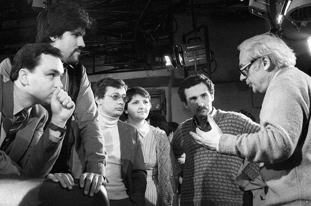 Владимир Ворошилов и знатоки, 1985 г.