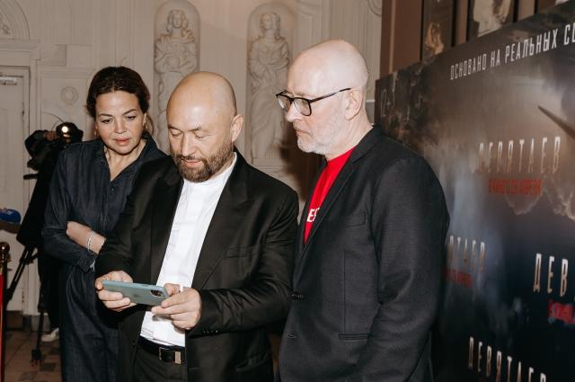 Картину представили режиссеры Бекмамбетов и Трофимов.