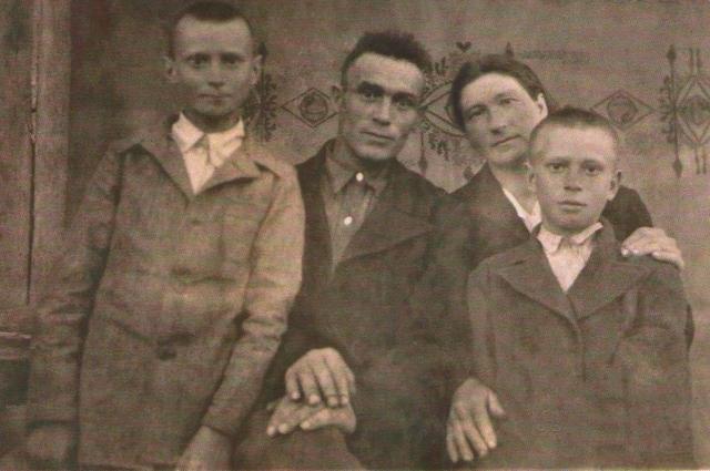 Семья Шопиных.