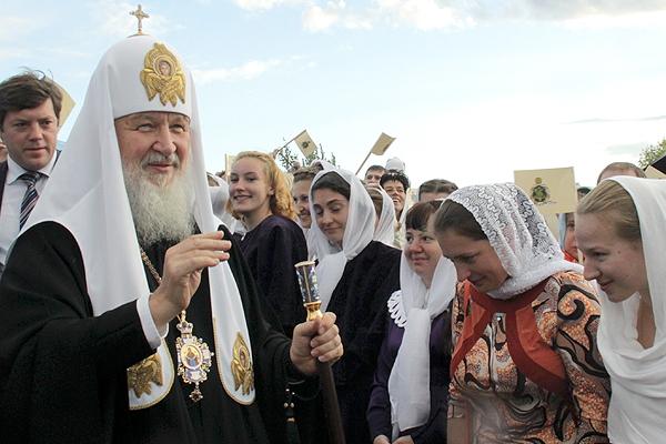 Патриарх Кирилл обещал приехать в Пензу освящать собор.