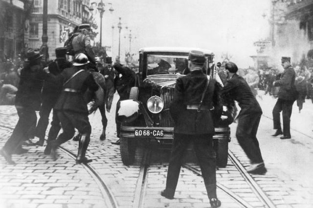 Покушение на короля Александра I Югославии в Марселе, 1934.