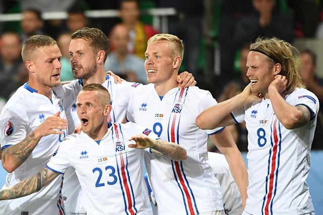 Сборная Исландии, сыграла вничью с самой Португалией, ведомой Криштиану Роналду.