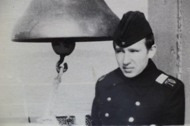 Николай Кисляков из П.-Забайкальского служил на флоте.