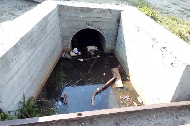 Тот факт, что ручей Голубка спрятан в трубу в других местах, активистов почему-то не смущает.