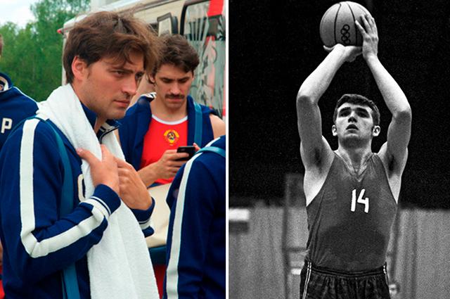 Роль Александра Белова сыграл 34-летний Иван Колесников. Самому Белову на момент того матча было 20 лет.
