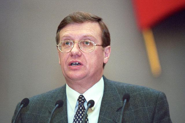 Председатель Комитета Государственной Думы РФ по обороне Андрей Николаев. 2002 г.