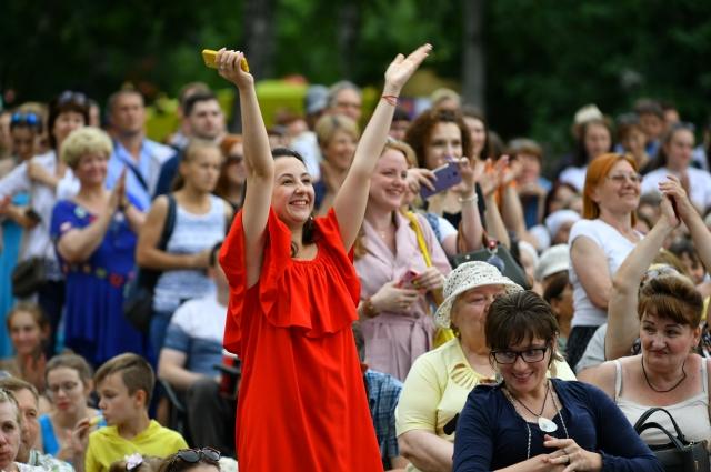 Поклонники театрального творчества посетили масштабный праздник.