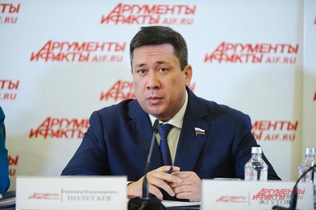 Владимир Полетаев, первый заместитель председателя Комитета Совета Федерации   по конституционному законодательству и госстроительству.