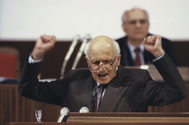 Академик Андрей Дмитриевич Сахаров на Съезде народных депутатов СССР (май июнь 1989 года). Выставочный фонд