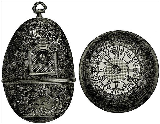 Диковинные часы для императрицы