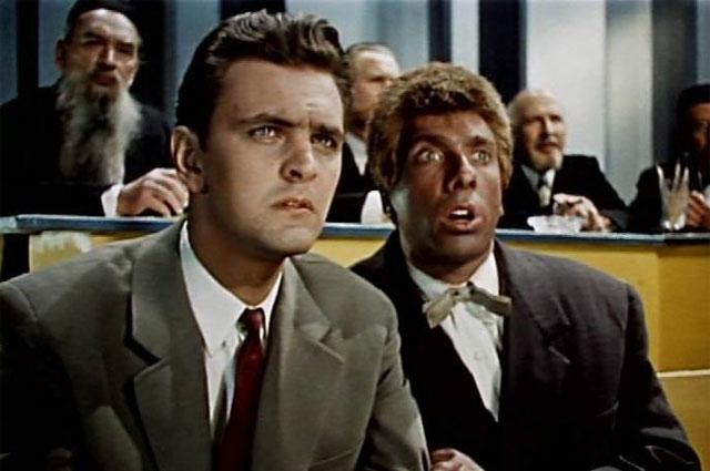 Кадр из фильма «Человек ниоткуда», 1961 год