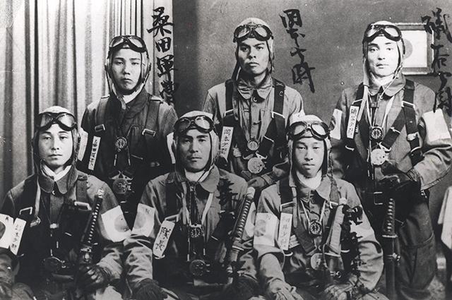 Японские камикадзе.