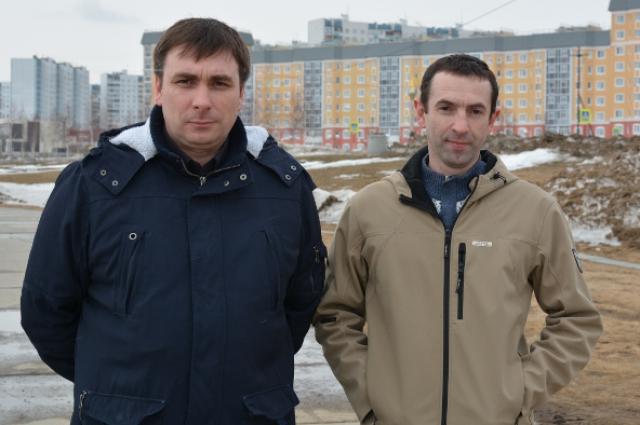 Евгений Шалякин и Иван Небилович