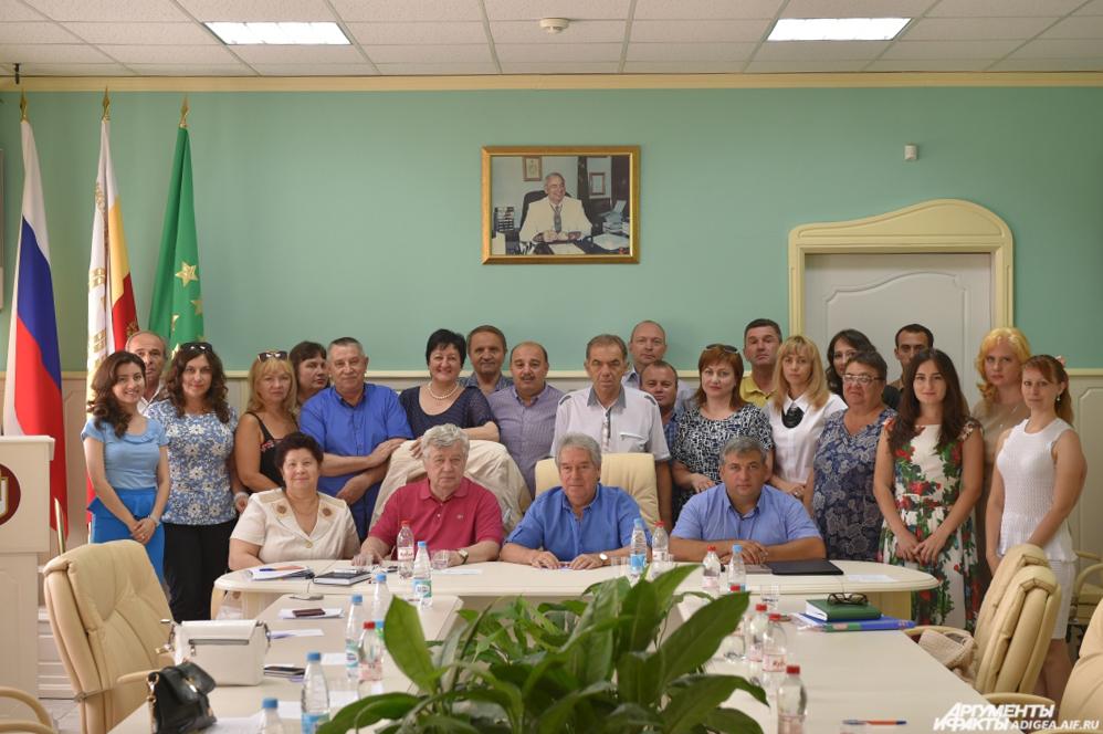 Союз журналистов Адыгеи, конференция