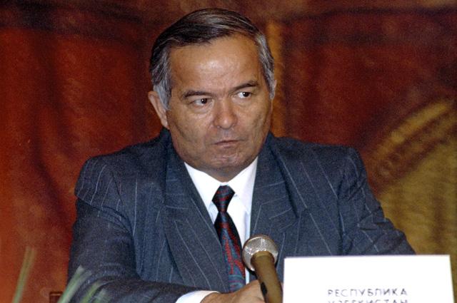 Президент Узбекистана с на встрече глав государств СНГ, 1992 год