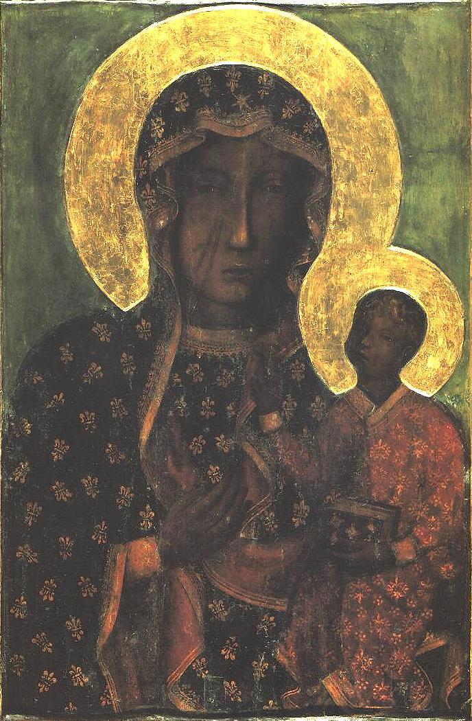 Ченстоховская икона Божией Матери.