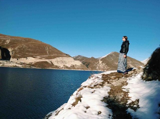 Высокогорное озеро Казеной-Ам — самое большое по площади озеро Северного Кавказа