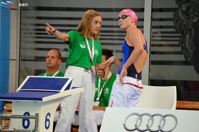 Анастасия Кирпичникова - новая звезда плавания