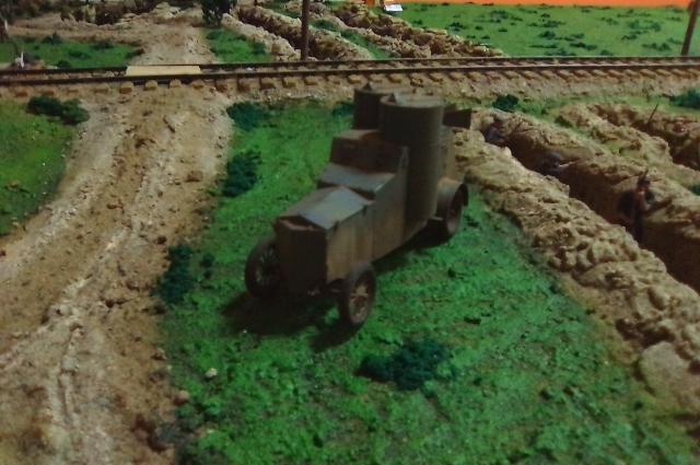 В распоряжении Андрея Звездова был пулемётный бронеавтомобиль «Фиат» Ижорского завода, который назывался «Питерец».
