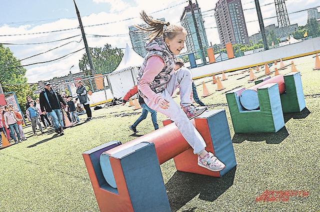 Юные москвичи со спортом дружат и летом хотят двигаться.