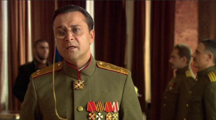 В фильме о Мишке Япончике Гришина-Алмазова сыграл Александр Лазарев (младший).