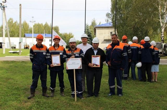 3 место – Центр электросетевых работ г. Брянска