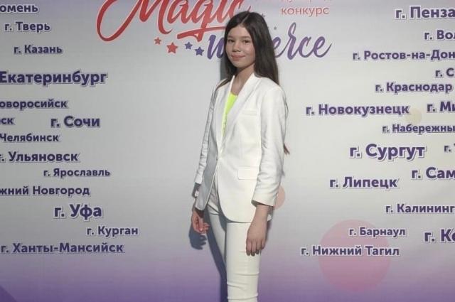 По словам мамы девочки Ольги Вагайцевой, уже в детском саду было понятно, что у Ани есть способности к пению.