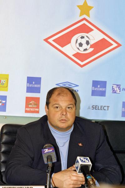 Экс-президент футбольного клуба Спартак (Москва) Андрей Червиченко