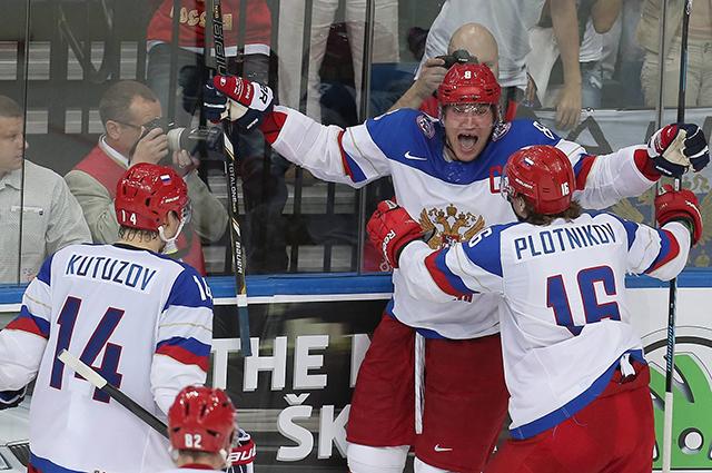 Сборная России по хоккею на Чемпионате мира 2014 в Минске