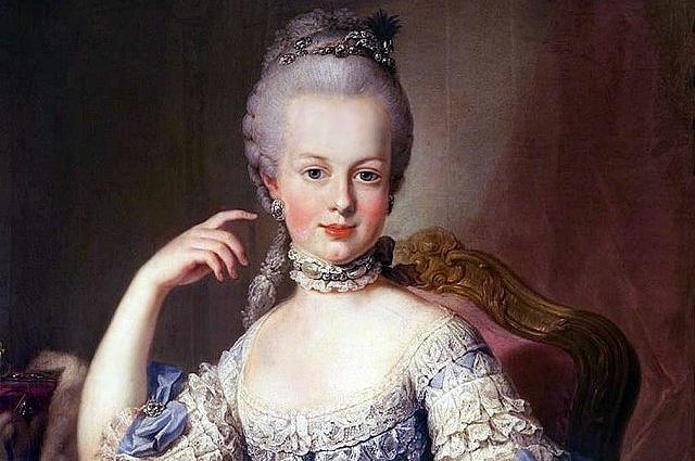 Портрет Марии-Антуанетты работы художника Мартина