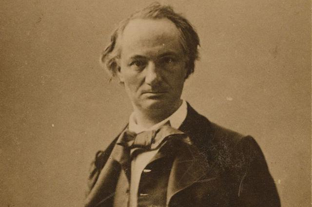 Шарль Бодлер, 1855 год.