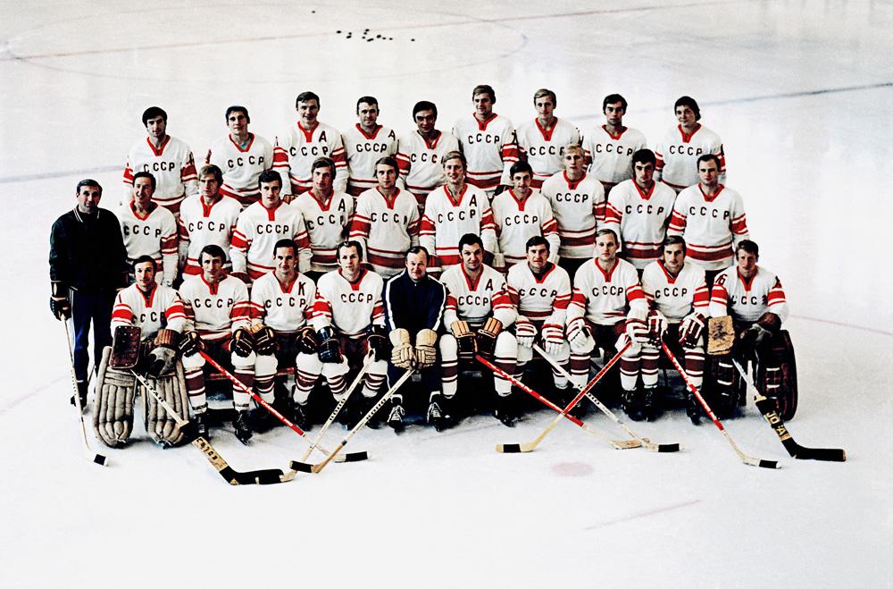 Сборная команда СССР по хоккею, 1972 год